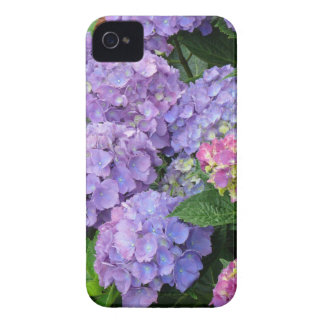 Purple and Pink Hydrangea Flowers iPhone 4 Case-Mate Cases