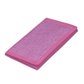 Purple and Pink Tri-fold Wallet