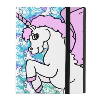 Purple and Pink Unicorn Pattern Covers For iPad