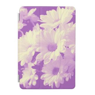 Purple and Soft Yellow Daisies iPad Mini Cover