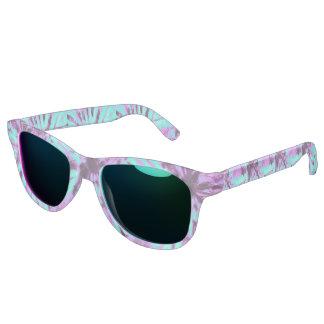 Purple and Teal Tie Dye Sunglasses