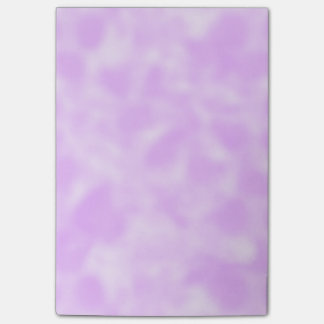Purple and White Mottled Post-it Notes