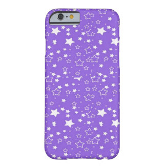 purple and white stars iphone case