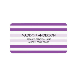 Purple and White Stripe Pattern