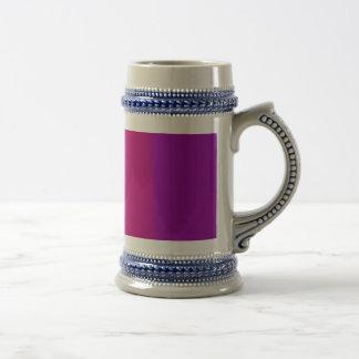 Purple and Wine Beer Steins