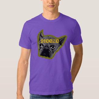 Purple and Yellow Dog Tee Shirts