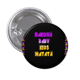 Purple and Yellow Hakuna Matata Baby Kids Gifts  a