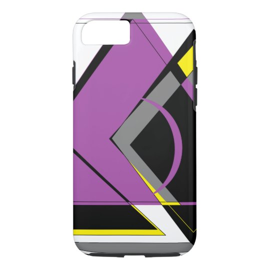Purple and Yellow iPhone 8/7 Case