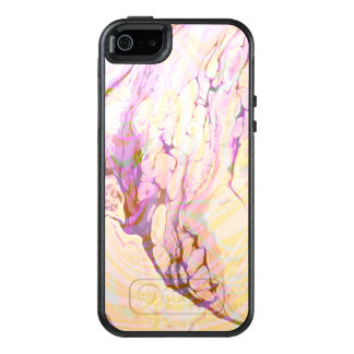 Purple And Yellow Marble Stone OtterBox iPhone 5/5s/SE Case