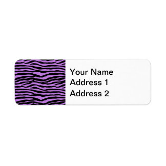 Purple and Zebra Stripes