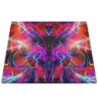 Purple Angel Canvas Print