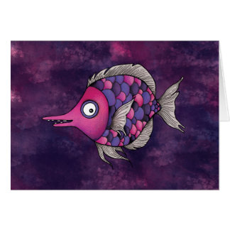 Purple Angel Card