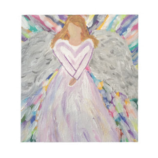 Purple Angel Notepad