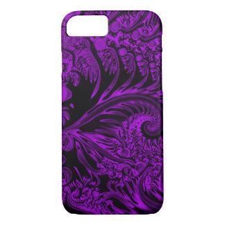 Purple Angel Pandemonium Airbrush Art iPhone 7 Case