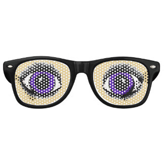 PURPLE ANIME (smaller eye version) EYE glasses