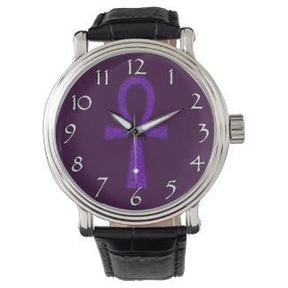 Purple Ankh Watches