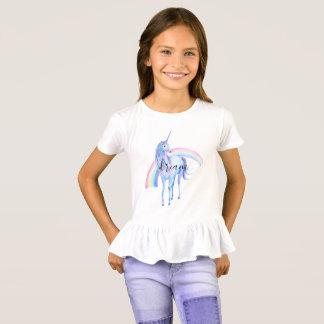 Purple Aqua Unicorn Dream T-Shirt