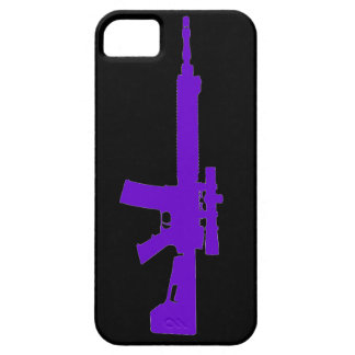 Purple AR-15 iPhone 5 Universal Case iPhone 5 Cover