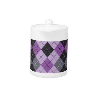 Purple Argyle