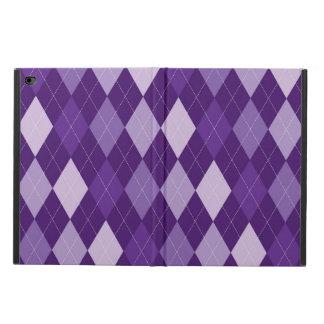 Purple argyle pattern powis iPad air 2 case