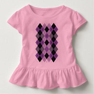 Purple Argyle Toddler T-shirt