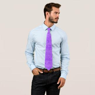 Purple Armani Pastel Paper Satin Necktie