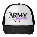 Purple Army Girlfriend Trucker Hat