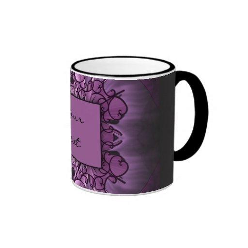Purple Art Mug