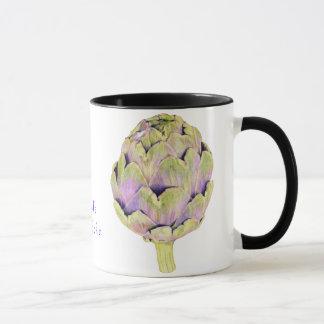 Purple Artichoke Mug
