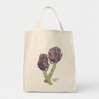 Purple Artichokes Party Favors Organic Bag