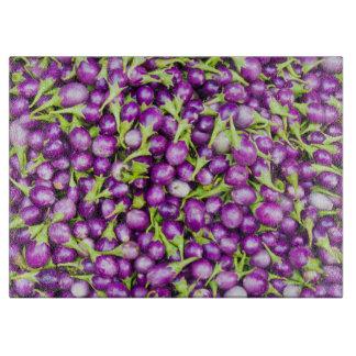 Purple aubergines boards