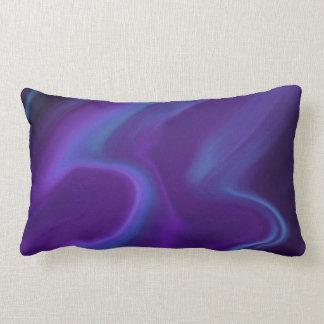 Purple Aurora Lumbar Pillow