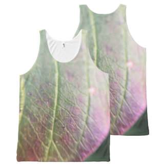 Purple Autumn All-Over-Print Tank Top