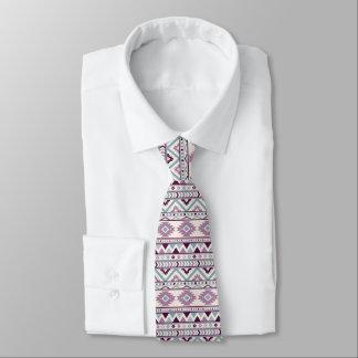 Purple Aztec Blend Men's Designer Tie