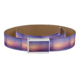 Purple Background Belt