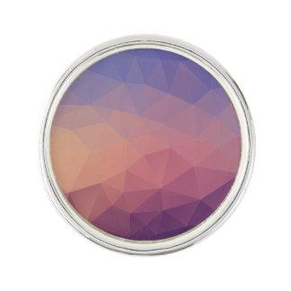 Purple Background Lapel Pin
