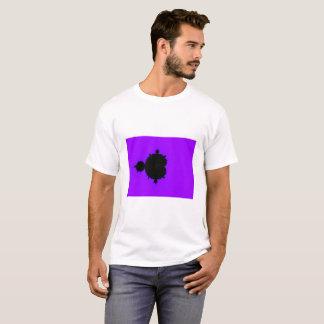 Purple Background Mandelbrot Fractal T-Shirt