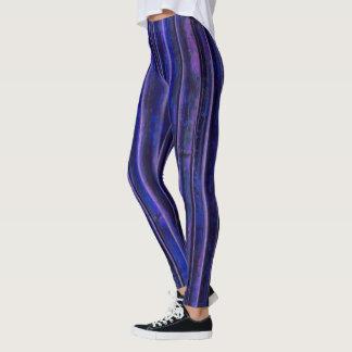 Purple Bamboo Leggings