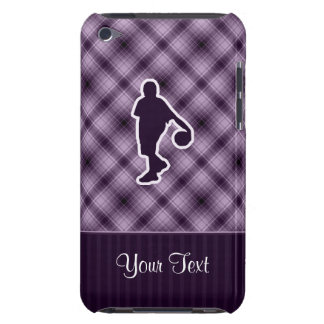 Purple Basketball Barely There iPod Case