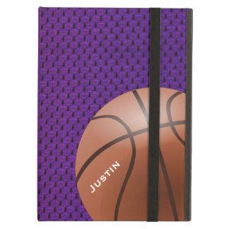 Purple Basketball iPad Air Case