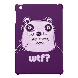 purple bear wtf cover for the iPad mini