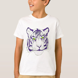 Purple Bengal Tiger T-Shirt