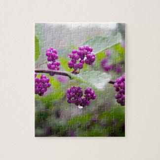 Purple Berries Jigsaw Puzzle