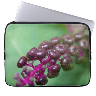 Purple Berries Laptop Sleeve