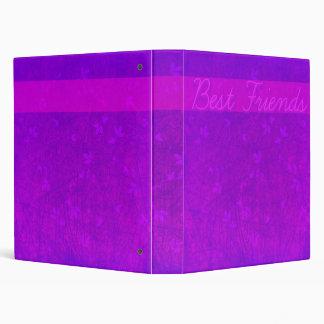 purple best friends photo album binder