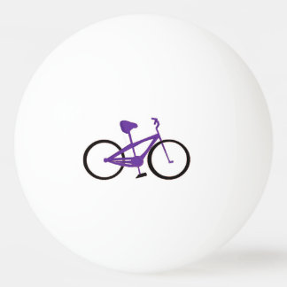 Purple Bicycle Ping-Pong Ball
