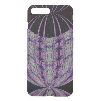 Purple Black Circle Abstract iPhone 7 Plus Case