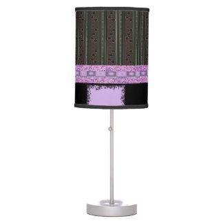 purple black design decorative lamp shade