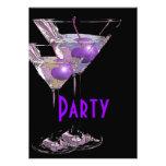 Purple black elegant party