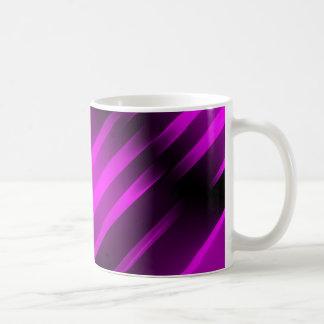 PURPLE-BLACK FUCHSIA FIRE White 11 oz Classic Mug